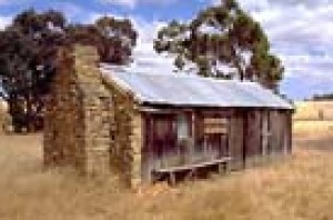 Six Mile Cottage, A slab and stone cottage outside Darkan