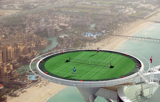The Burj al Arab is a self-rated seven star establishment, built on a man-made island 280 metres from shore. It's one of ...