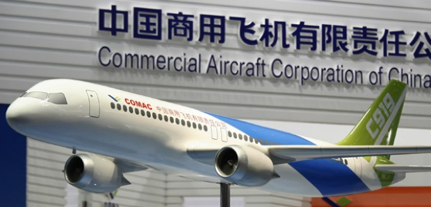 The jet, which COMAC has said seats between 168 and 190 passengers, is due to make its maiden flight in 2014 and be ...