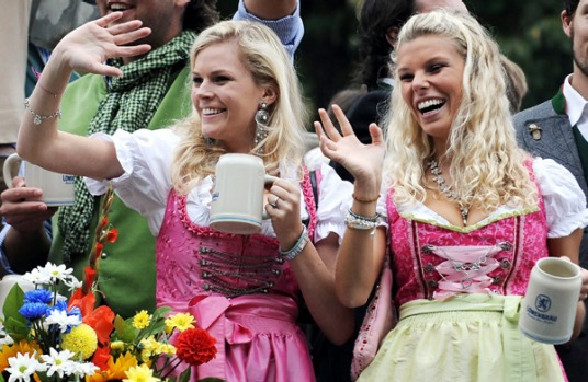 Munich's annual beer festival kicked off last year just before general elections were held.