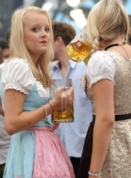 The Oktoberfest attracts some six million visitors a year, who swallow as many litres of beer and bring in in 830 ...