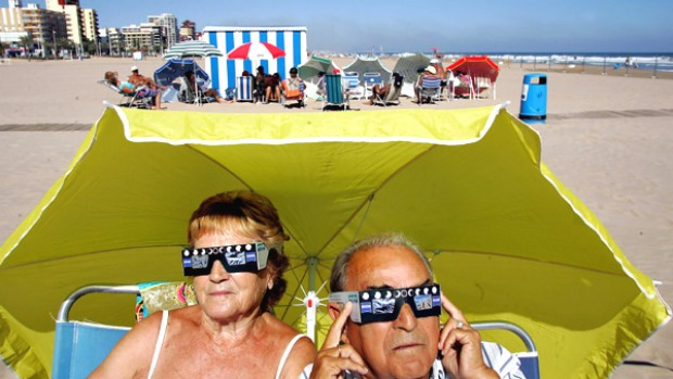 Too hot: the warm weather in Portugal was cause for one complaint.