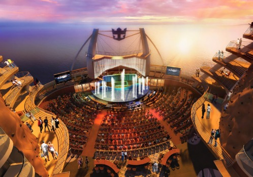 Among the attractions are an aqua theatre pool 5.4 metres deep, two rock-climbing walls, the obligatory casino and 21 ...