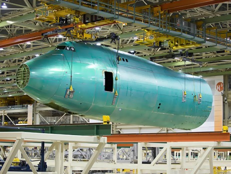 The 747-8 Freighter is set for delivery in the third quarter of 2010, while the 747-8 Intercontinental, which is the ...