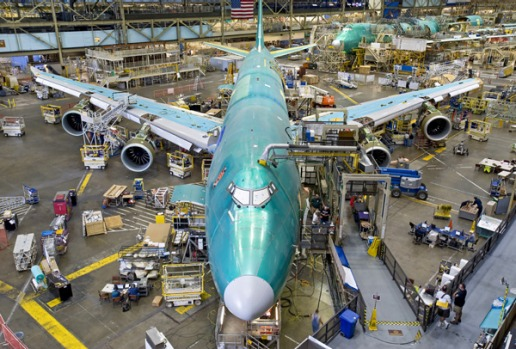 Boeing has 105 orders for 747-8s on its books at list prices between US$293 million (A$339 million) and US$308 million ...