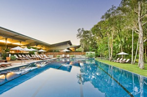 Blissed out ... The Byron at Byron Bay.