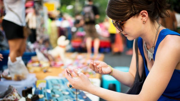 Haggling at a market can be cut-and-dried game for Western tourists.