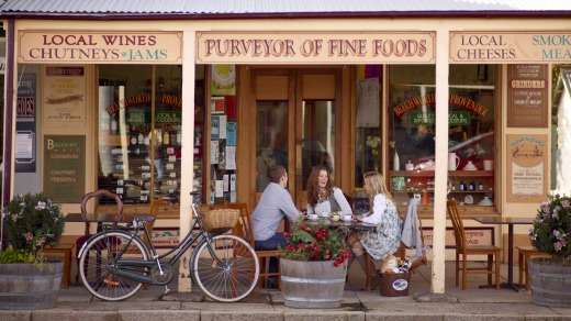 Main street Beechworth has all the charm  expected of a goldrush town, and more.