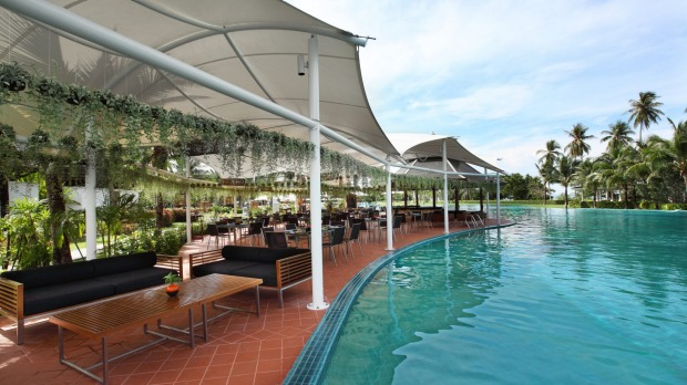 The Hotel Sofitel Krabi Phokeethra's pool is the largest hotel pool in Thailand.