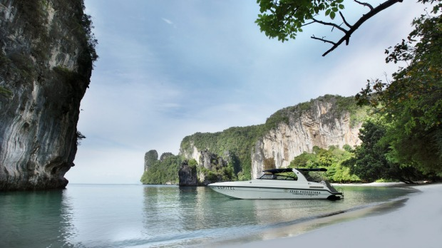 The Hotel Sofitel Krabi Phokeethra offers its own boat tours to the nearby islands.