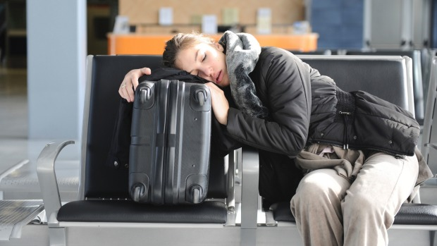 Taking non-direct flights can leave you with long layovers at airports.