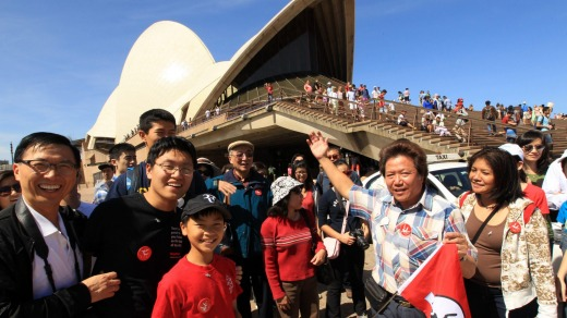 Chinese tourist numbers to Australia are growing rapidly, though still only a small percentage of overall Chinese ...