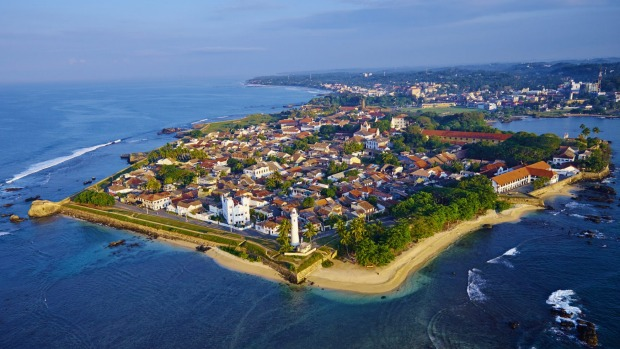 Built by the Portuguese and later fortified by the Dutch, the historic Galle Fort on the south-western coast of Sri ...