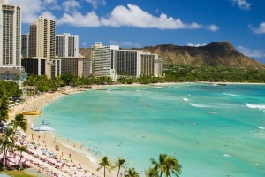 Lap up the sights, sounds and sunsets of Oahu's world-famous Waikiki Beach.