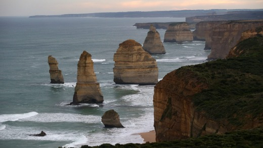 Great Ocean Road: the Twelve Apostles.