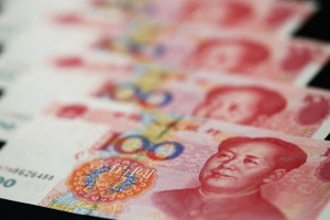 Money matters: The Chinese yuan.