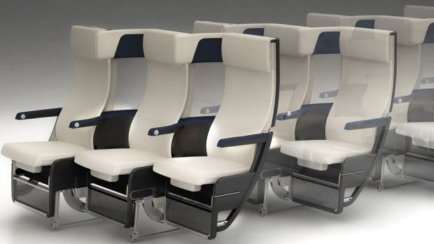 Thompson Aero Seating has come up with the Cozy Suite, a new seat design that incorporates a second, side-on headrest as ...