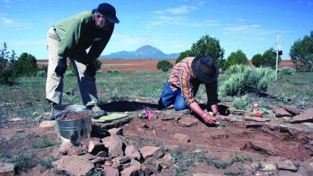 ARCHAEOLOGICAL DIG, COLORADO: With so much focus on what's coming next, many of us never think about the past. ...