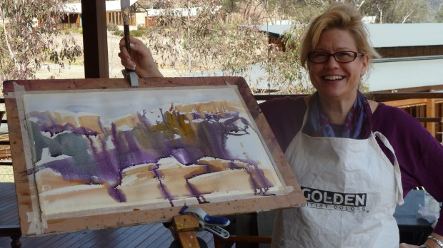 PAINTING WORKSHOP, FRANCE: What's the childhood hobby you haven't done for years? Music? Dancing? Painting? Perhaps it ...