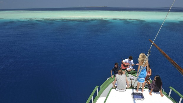 SAILING THE MALDIVES: You want pared-back? Then try one boat, eight passengers, and the thousands of atolls and reefs of ...