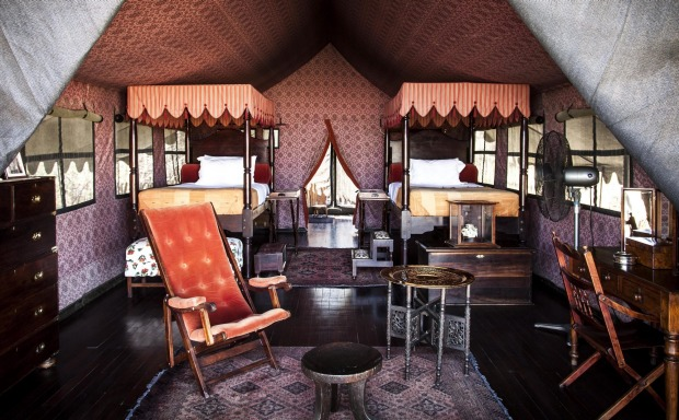 5    JACK'S CAMP, MAKGADIKGADI PANS, KALAHARI, BOTSWANA. Billed as the most romantic tented experience anyone could ...