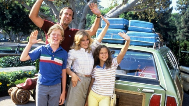 The Griswolds embarked on a family vacation with Gran.
