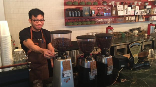 Australia's indie coffee scene has caught on in Singapore: Common Man Roasters.