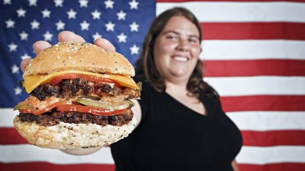 There are a lot of overweight Americans - just like Australia.