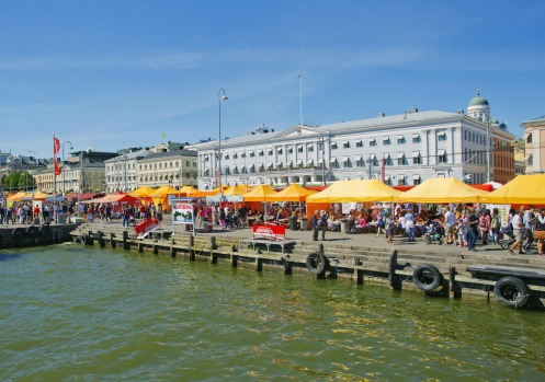KAUPPATORI,  HELSINKI: This pretty market hall by the harbour is, of course, the place to come for fresh fish; you can ...