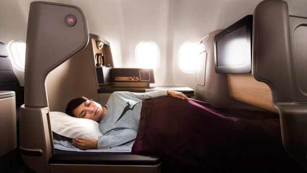 Travellers can achieve better levels of comfort, particularly in flat bed mode.