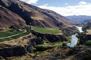 Chard Farm winery, on the Kawarau River Gorge, near Queenstown,