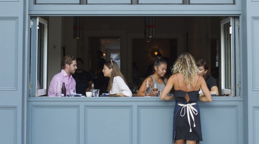 Acme Restaurant in Rushcutters Bay.