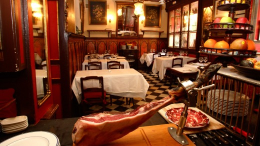 Restaurant Sobrino De Botin in Madrid is reputedly the oldest restaurant In the world.