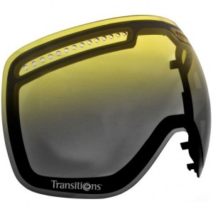 Dragon Transition Lens: The Dragon Transition lens uses photochromic technology to create a goggle lens that adjusts to ...