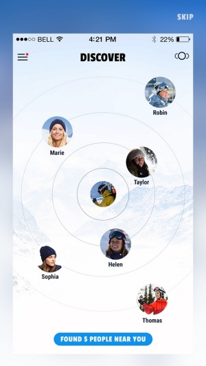 GoSnow geo app: Founded by Aussie entrepreneur, Sean Bellerby, GoSnow is a mobile app that intuitively connects skiers ...