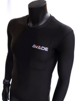 AVADE Heated Base Layer: Imagine a compression garment that keeps you warm on the exposed chairlift during those sub ...