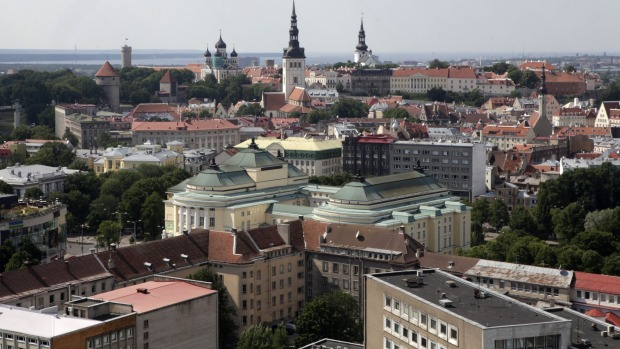 """Julia Zemiro's No.2: """"The other good thing about Tallinn [the capital of Estonia] is that there's an old town, an old ..."""