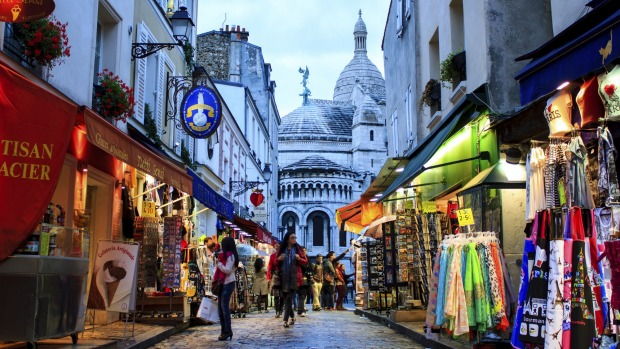 """Julia Zemiro's No.9: Paris, """"it's the sort of place where you can go to lots of places for free. To me it is everything ..."""