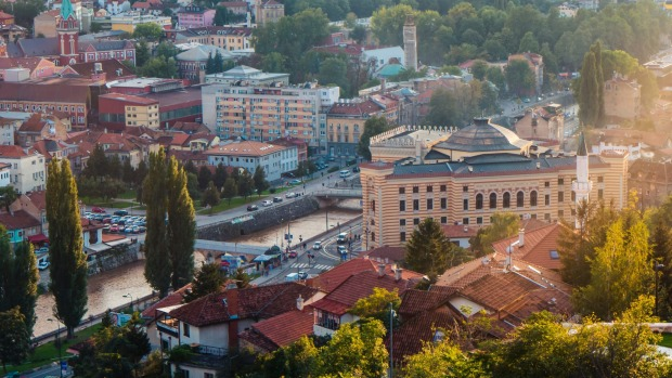 """Julia Zemiro's No.10: """"There are many, many places in Sarajevo where you can go to high vantage points and look down on ..."""