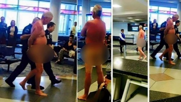 Man Reportedly Strips Naked to Protest Overbooked Flight at Charlotte Airport   TravelPulse