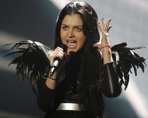 Nina Sublatti from Georgia has a strong chance with her song Warrior.