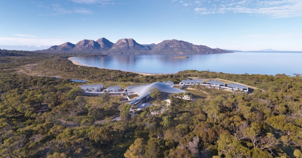 Top 10 'Luxury Travellers' Choice' hotels in Australia. 1. Saffire Freycinet, Tasmania.