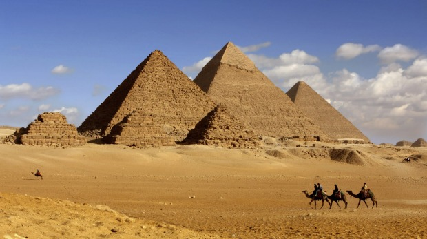 The pyramids of Giza have long been a drawcard for visitors to Egypt.