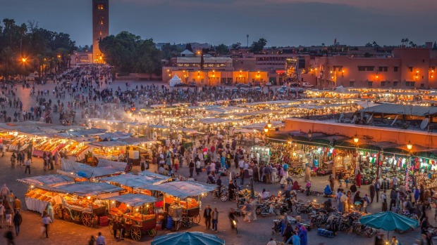 JEMAA EL-FNA, MARRAKECH: During the heat of the day, Marrakech's most famous square tends to be hot and dusty, left ...