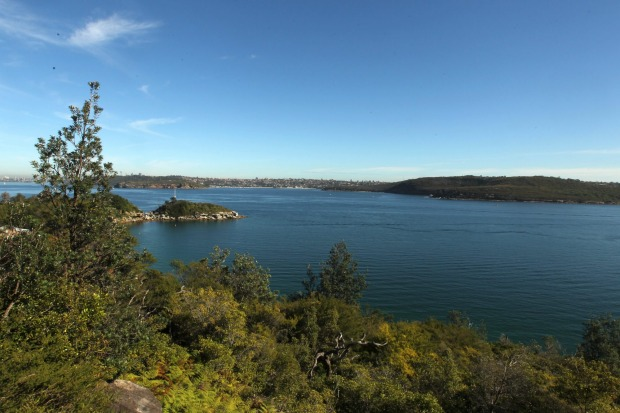 View from the Quarantine Station at North Head, Sydney.