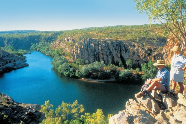 The sheer multi-splintered scale of the Grand Canyon can't be trumped by anything in Australia, but it'd be a jaded ...