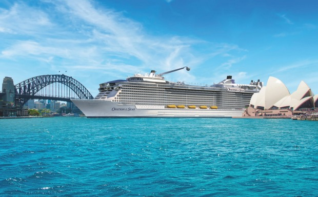Ovation of the Seas, Royal Caribbean International: She is virtually identical to Quantum and Anthem of the Seas and ...