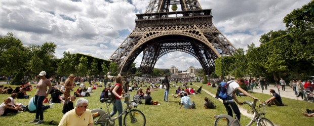 Some of the cliched tourist attractions don't live up to the hype. But the Eiffel Tower is not one of them.