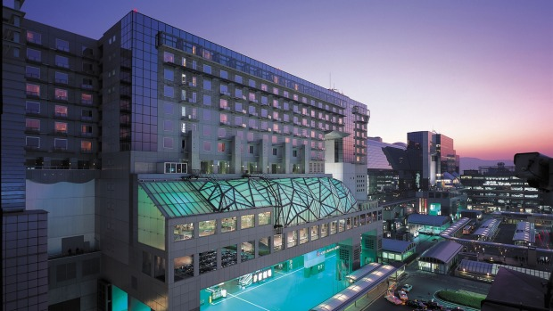 HOTEL GRANVIA KYOTO, JAPAN: Major railway terminals in Japan are not only invariably centrally located but near small ...