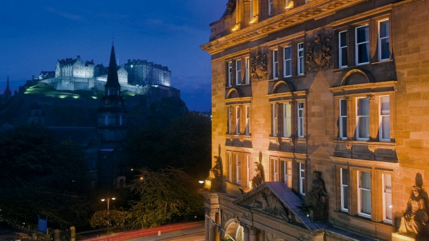 WALDORF-ASTORIA EDINBURGH - THE CALENDONIAN, SCOTLAND: The Caledonian competes with the nearby Balmoral for the title of ...